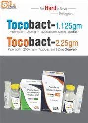 Piperacillin 1g &  Tazobactam 125mg