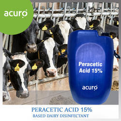 Peracetic Acid Based Disinfectant For Dairy And Poultry