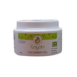 Gayatri Herbals Cucumber Extract Cucumber Gel, Packaging Size: 75 Gm,100 Gm And 200 Gm