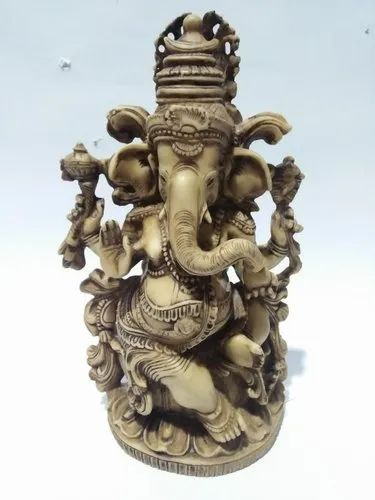 Kalinga Arts Resin Ganesh Statue, Size/Dimension: 9x 5.5 Inches