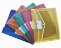 Classik Plastic Button File Folder Swade Matt Design Transparent Colour Document Bag 0.40_616