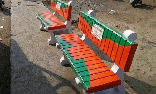 Exceptional RCC Garden Bench
