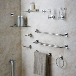 delta towel holder bath depot b lyndall set piece paper accessories bathroom pc toilet chrome hardware the with ring home n sets