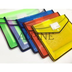 Alpine Button File Folder
