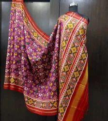 Double Weave Patola Saree