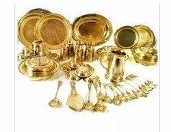 Brass Utensils Set