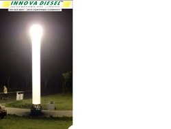 15 Feet Emergency Inflatable Balloon Light Tower, 400 W Mh