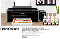 Epson 3110 Ink Tank Color AIO Printer, Model Number: Epson HC1450