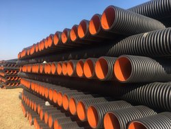 HDPE Double Wall Corrugated Drainage & Sewerage Pipe