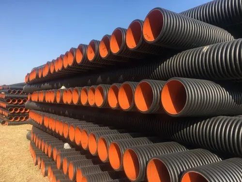 HDPE Double Wall Corrugated Pipe - HDPE Double Wall