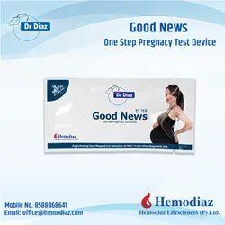 Plastic Pregnancy Test Kit, Packaging Type: Box