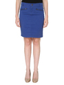 Bedazzle Solid Women A-line Dark Blue Skirt