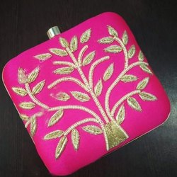 Pink Party Clutch