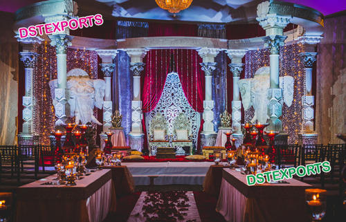 South Indian Wedding Stage Decoration Pictures