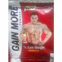 GH Weight Gain More Ayurvedic Powder, Packaging Type: Packet