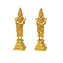 Yellow Deep Lady Pair Made In Brass Metal