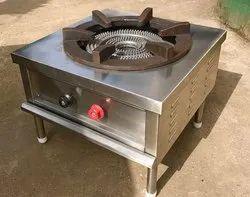 Stainless Steel Polished Biriyani Cooking Range for Hotel