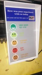 Customer Feedback Machine (Touch Screen)
