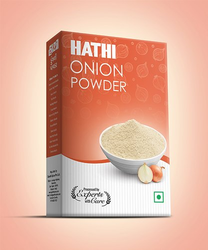 Hathi Onion Powder, Packaging Type: Box, Packaging Size: 50gm