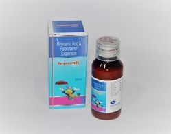 Mefenamic 100mg With PCM 250mg Suspension 60ml ( with Outer Carton)