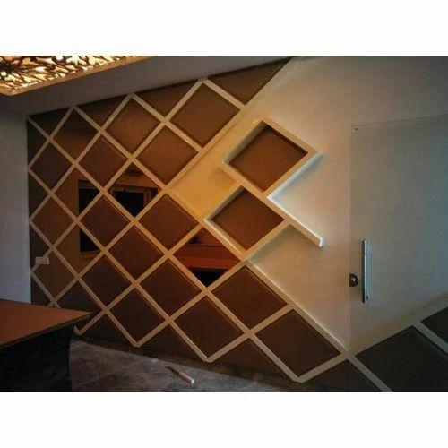 Pvc Living Room Wall Panel Rs 650 Square Feet Glass Angels Id