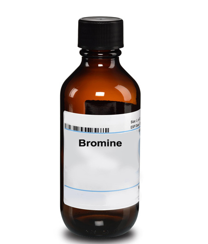 Bromine, Grade Standard: Analytical Grade, for Industrial