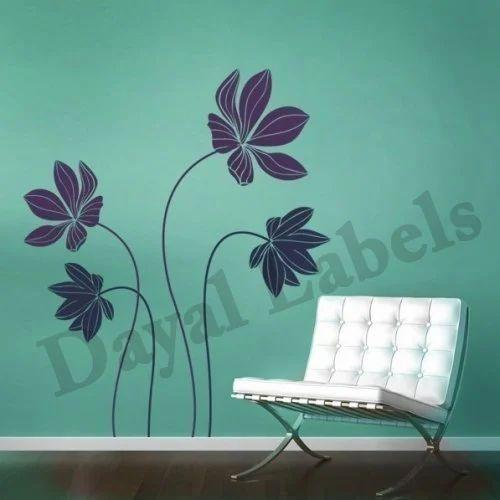 Wall Decals व ल ड कल Dayal Labels New Delhi Id 8093056173
