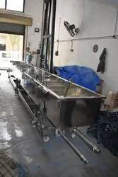 Extruder Water Bath