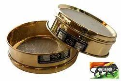 Round Brass Test Sieve