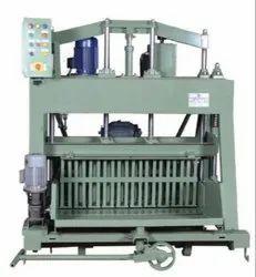 Triple Vibrator Hydraulic Operated Concrete Block Making Machine
