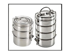 Casa n Cocena Stainless Steel Clip Tiffin