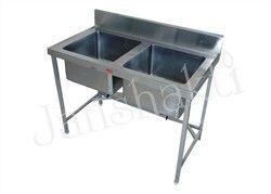 SS Double Sink Unit