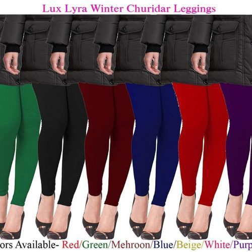 1ecccf43d9434 Lux Lyra Lycra And Cotton Leggings, Rs 230 /piece, Gavino Solutions ...