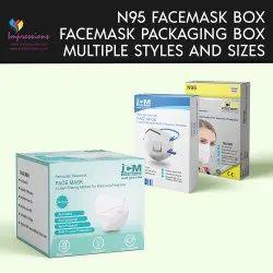 N95 Facemask packaging Box
