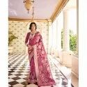 Heavy Look and Beautiful Embroidered Saree