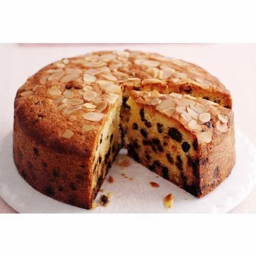 Superb Round Dry Fruit Cake For Birthday Parties Weight 1 Kg Rs 600 Funny Birthday Cards Online Sheoxdamsfinfo