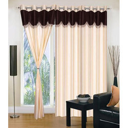 Plain Window Silk Curtain