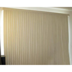 PVC White Smooth Vertical Blinds