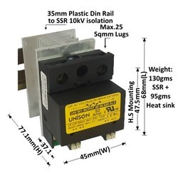 50 Amp SSR SCR Power Controller