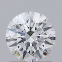 1.00ct Lab Grown Diamond CVD G VVS1 Round Brilliant Cut IGI Certified Stone