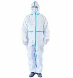 Non Woven Laminated Coverall for Protection Against Corona
