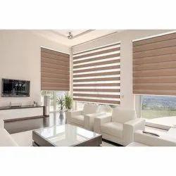 Fiber Matte Zebra Window Blinds