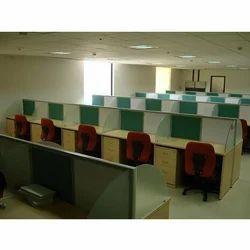 Linear Modular Office Workstation