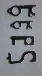 Covid Key Black Plating