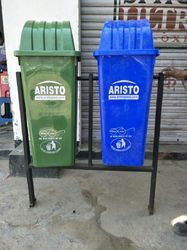 Aristo Dual Dustbin with Stand