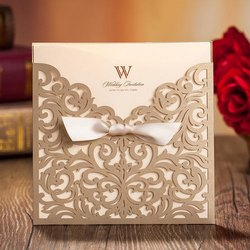 Paper Wedding Invitation Card