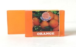 Orange Glycerin Soap - Transparent