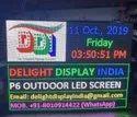 P6 Advertising LED Display Screen
