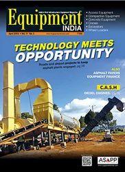 Equipment India Magazine Publication