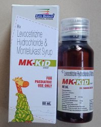 Montelukast 4 mg & Levocetrizine 2.5 mg per 5 ml Suspension
